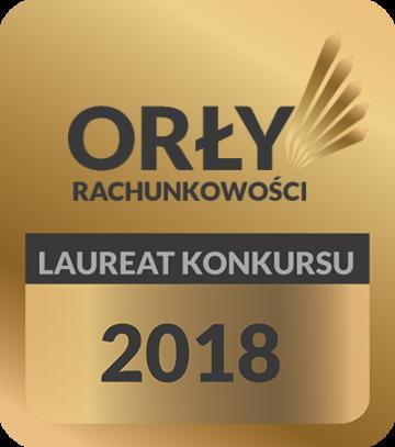 Laureat Konkursu <br/>Orły Rachunkowości 2018